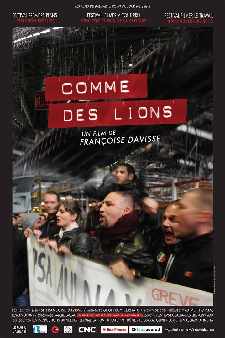 """image from Mardi 18 Février - Projection du film """"Comme des Lions"""""""
